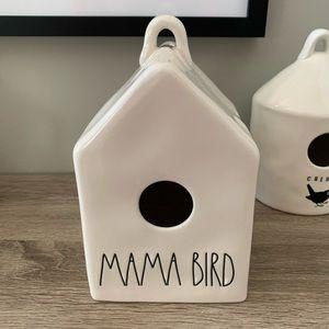 NWT Rae Dunn Mama LL Birdhouse